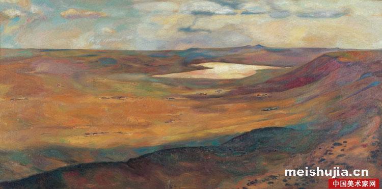 《中国实力派画家—朝戈》,《名家精品—朝戈草原风景油画》,《中国