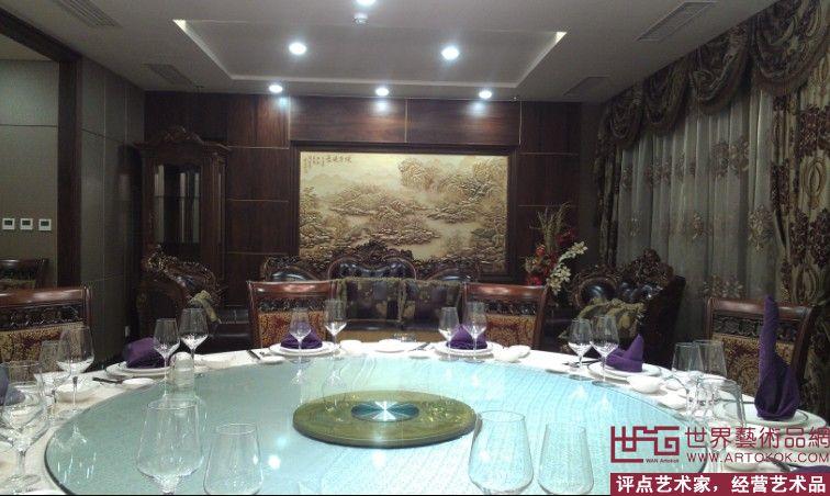 南京室内风景树塑雕