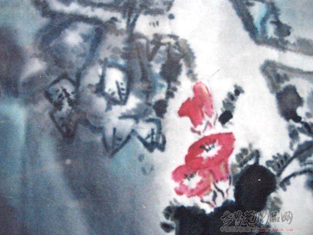 黄绍林-小红花-淘宝-名人字画-中国书画交易中心,中国