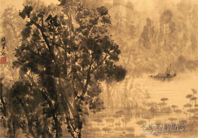 国画名家 宋晓赟 - 山水小品