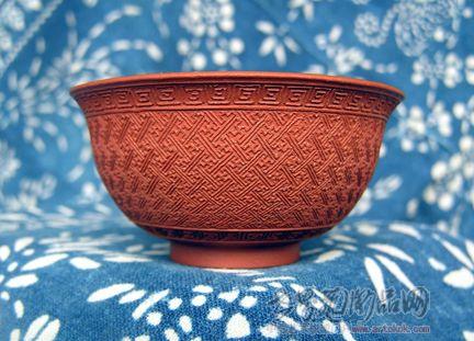 陶艺作品碗可爱