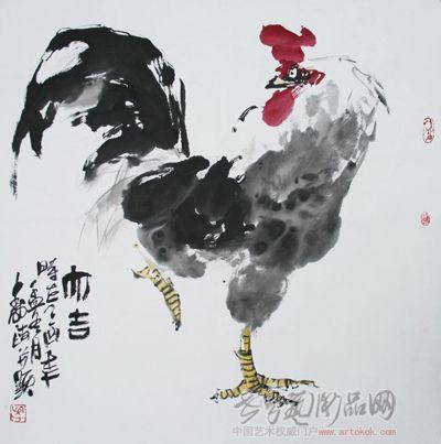 名家 吴寿政 国画 作品