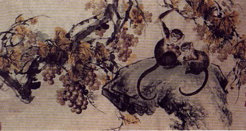 贾民英-猴子-淘宝-名人字画-中国书画交易中心