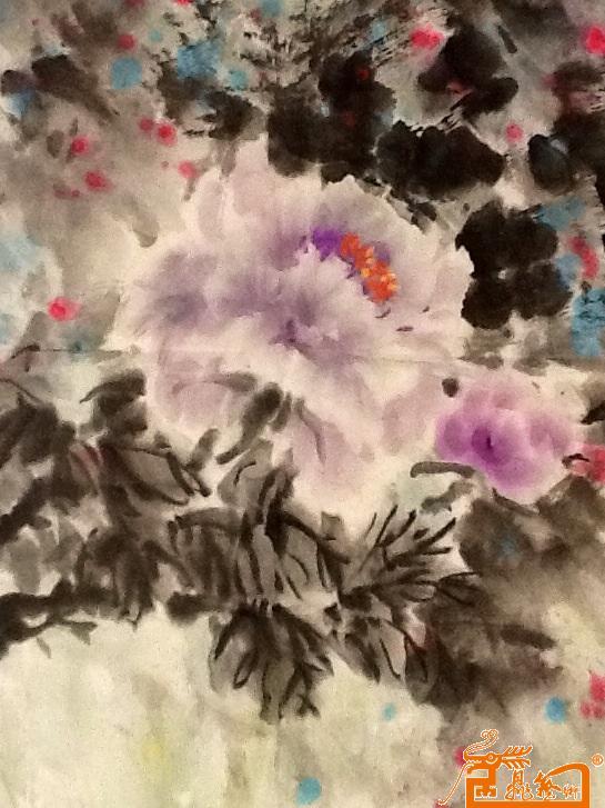 国画 - 多彩的春天