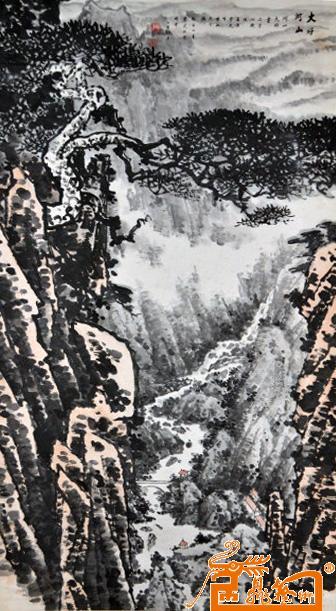 杜云山先生从事书画创作四十余年,当代黄山画派领袖张建中收其