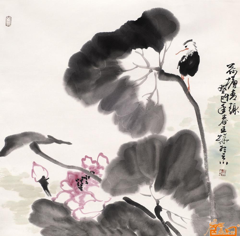 中国国画名家王烨期权艺术收藏