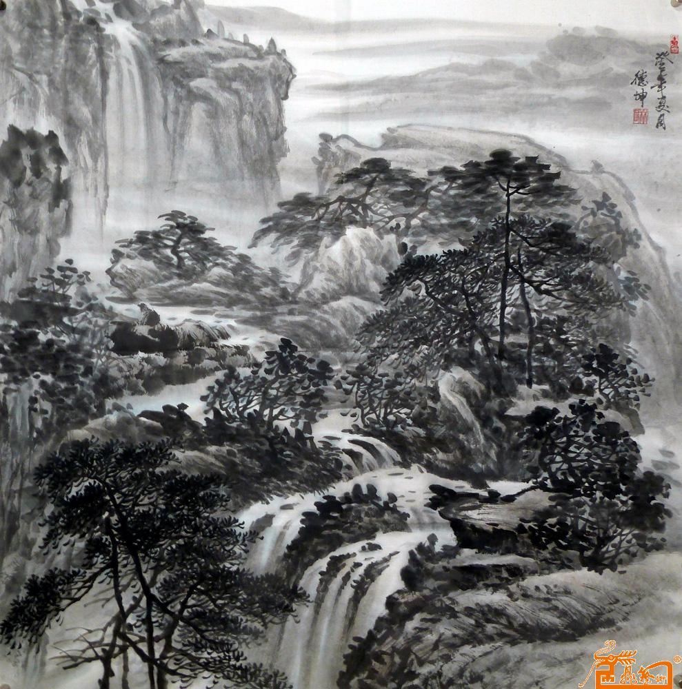 林德坤-山水1-淘宝-名人字画-中国书画服务中心