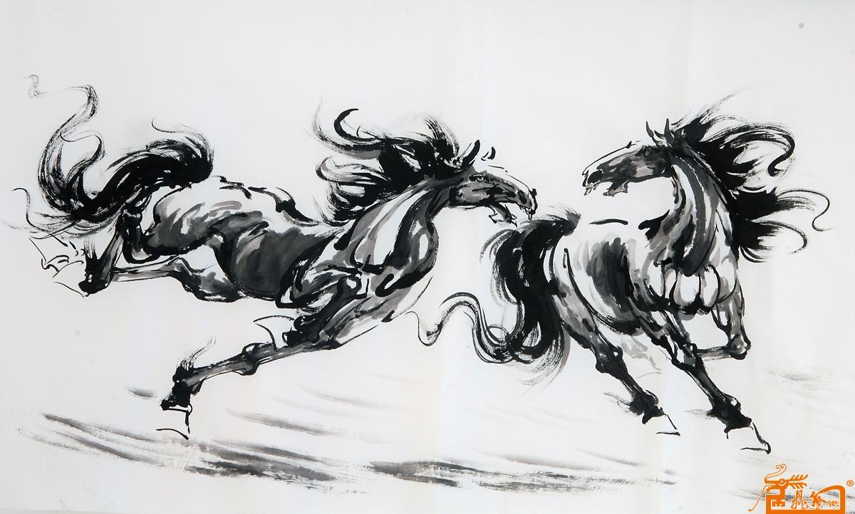 马的国画图片大全大图