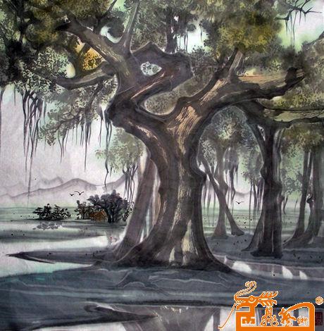 名家 罗清元 国画 - 作品11(已售) 当前 位粉丝喜爱本幅作品