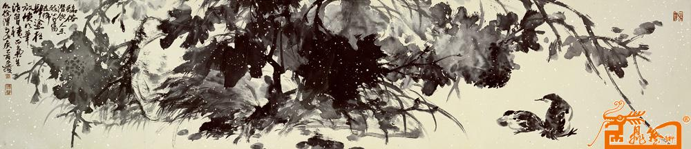 新雅朴素的古风绘画作品欣赏   sai软件绘画,古风画一般用啥笔画?