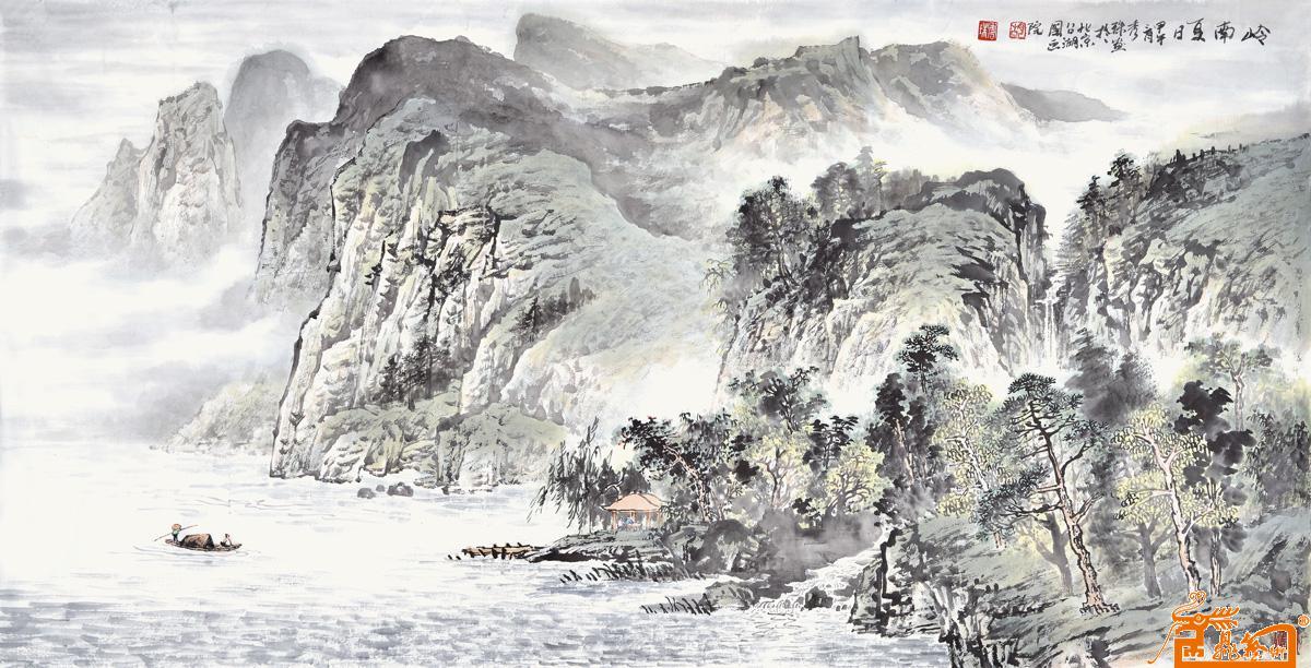 胡秀珠-岭南夏日 -淘宝-名人字画-中国书画交易中心