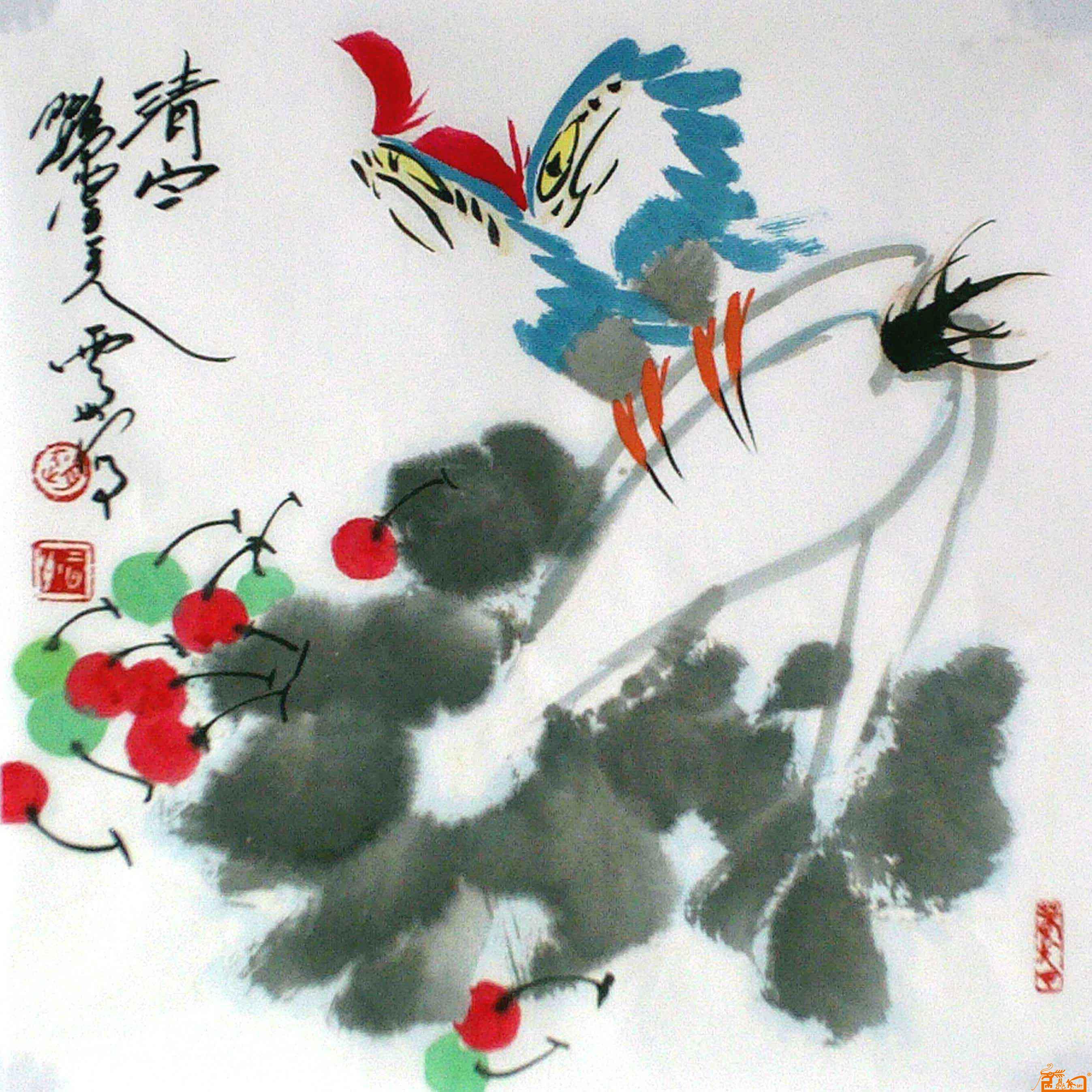 赵云州-白菜-淘宝-名人字画-中国书画服务中心