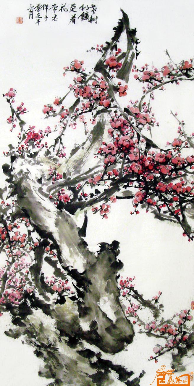 老树似铁更着花