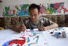 中国著名烙画艺术家:王子宝