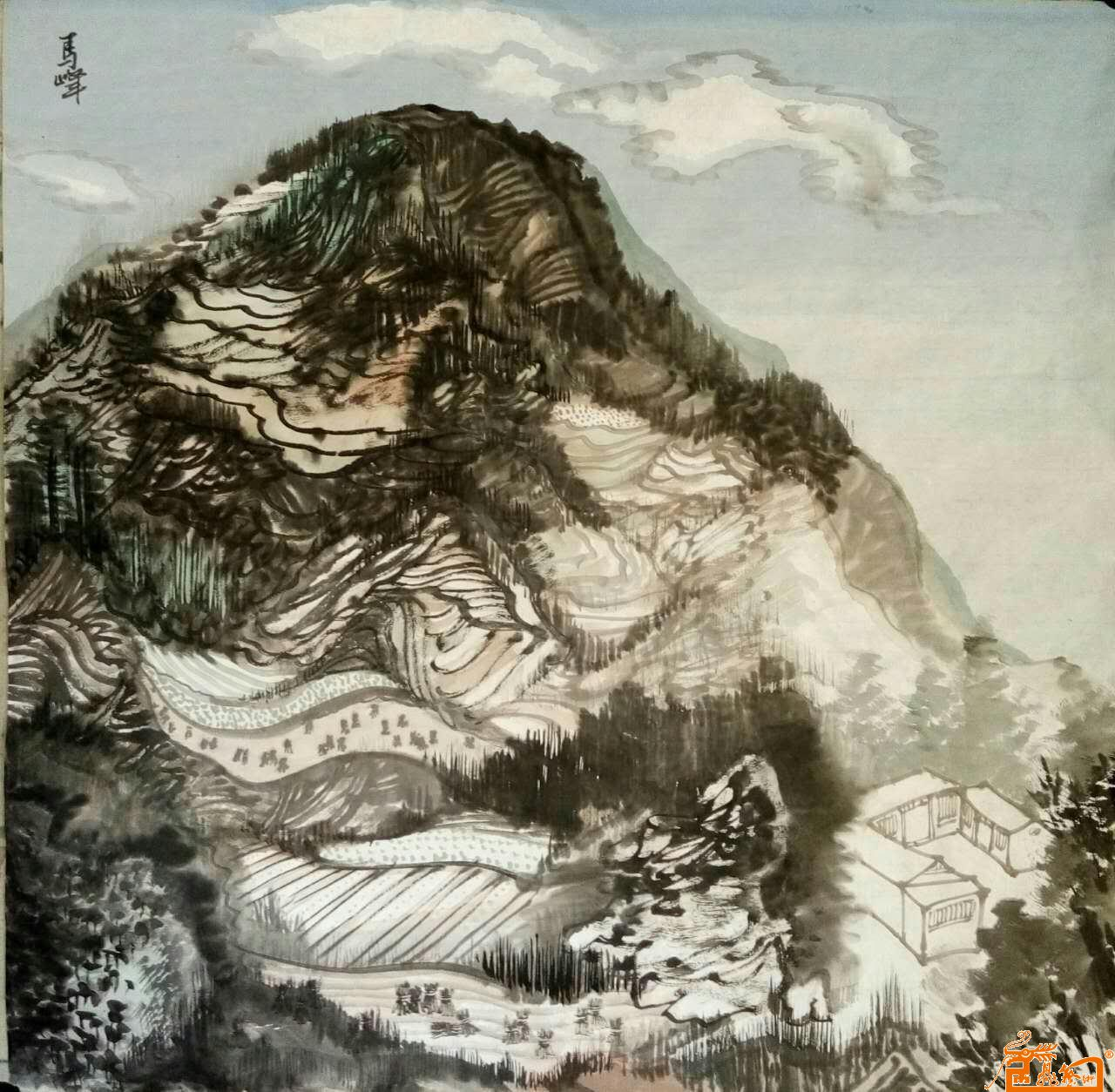 马峰-作品2-淘宝-名人字画