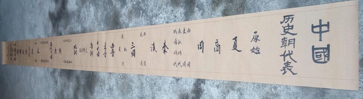 谢影妙-中国历史年代表-淘宝-名人字画-中国书画交易