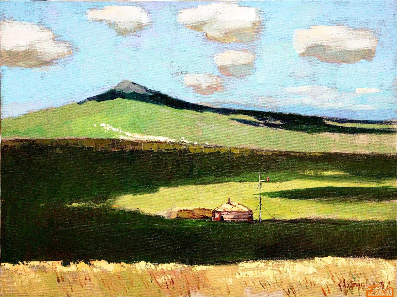 内蒙古风景油画名家