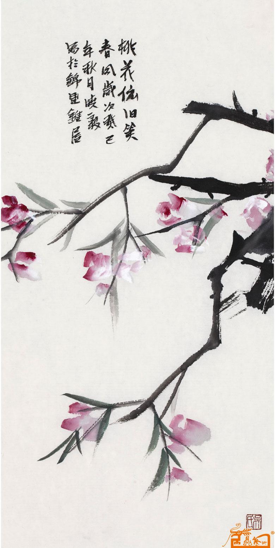 [国画] 桃花依旧34图片