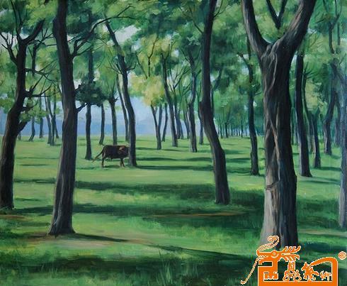 小树林之晨