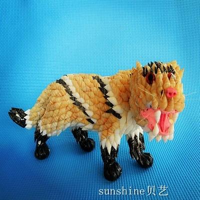 海螺贝壳工艺品贝壳动物十二生肖 虎