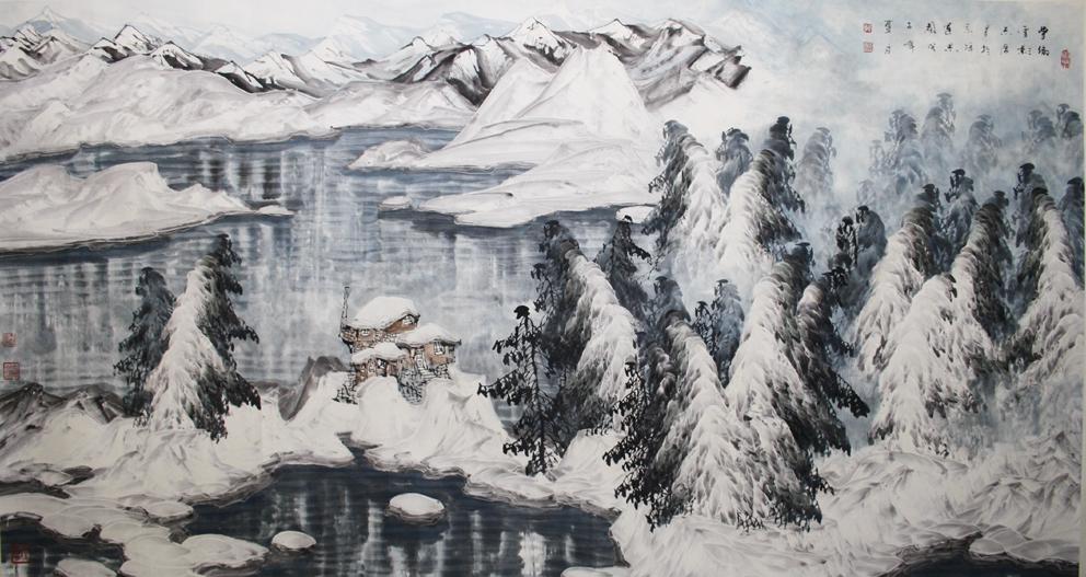 于志学冰雪山水中国书画服务中心,中国书画销售中心