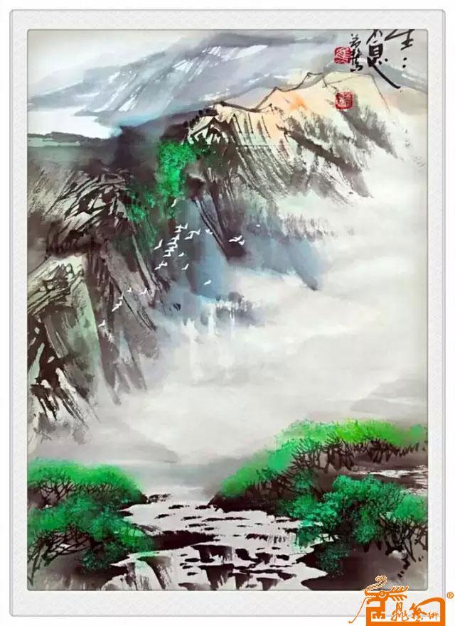 焦若松 -山水-淘宝-名人字画-中国书画交易中心,中国