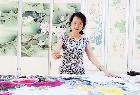 中国著名国画艺术家:龙碧珍