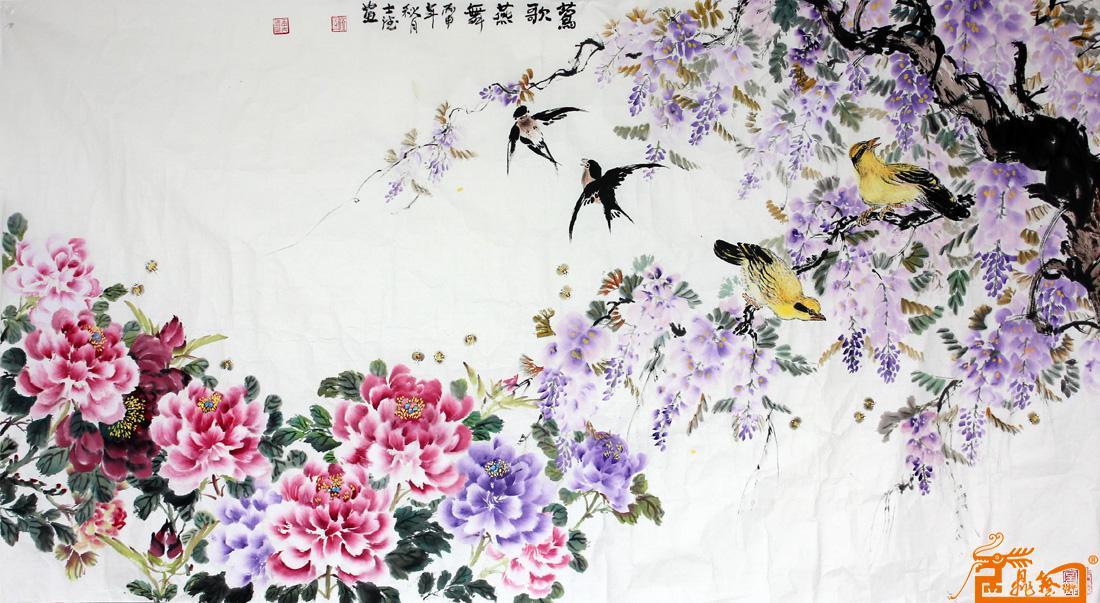 十三月莺歌手绘图