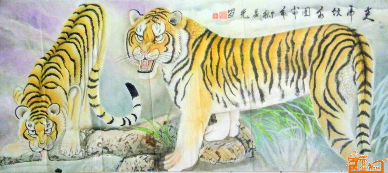 儿童老虎袜编织图片