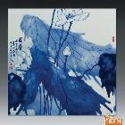 瓷板画-荷香