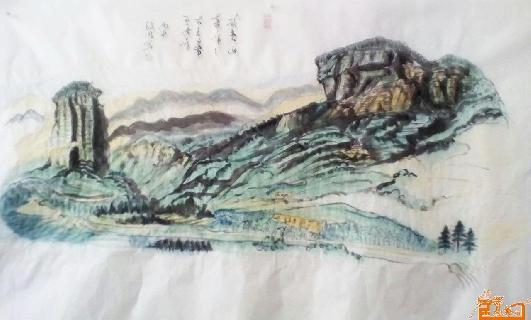 作品29武夷山大王峰玉女峰
