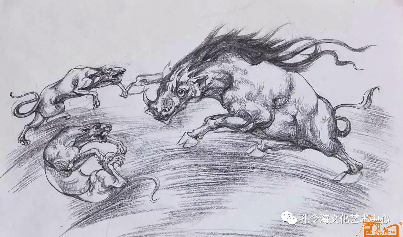 手绘动物图稿3