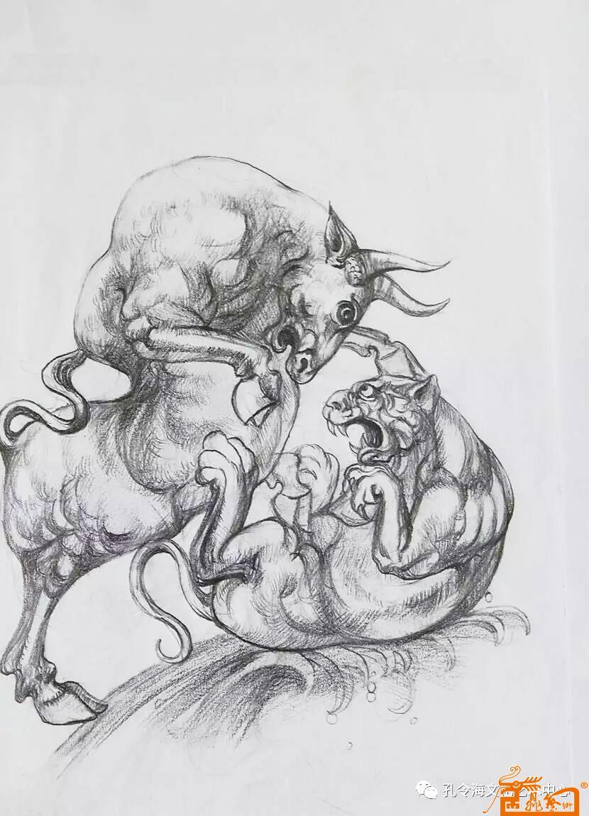 手绘动物图稿4