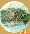 98-新作,武夷山九曲溪(直径33cm)